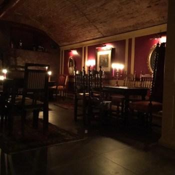 Una parte della sala