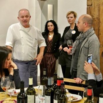 Lo Chef Paolo Fiaschi e Filippo Bartolotta di MaMa