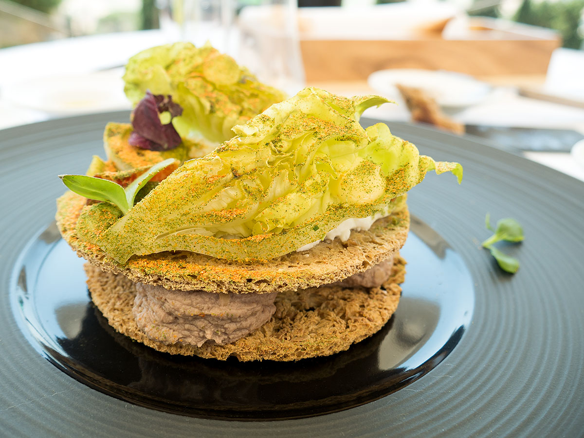 Club Sandwich di fegatini