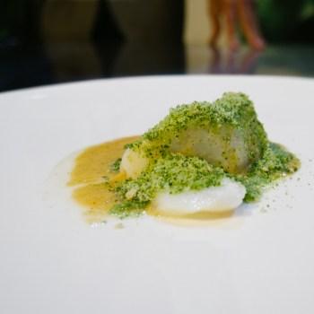 Stefano Terigi, Giglio - Baccalà, beurre blanc al kiwi