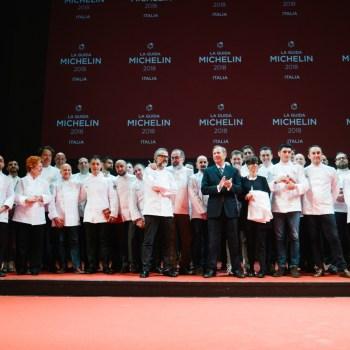 I premiati dalla Guida Michelin 2018