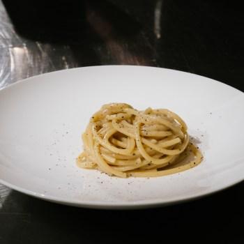 Spaghetti Ceci e Pepe