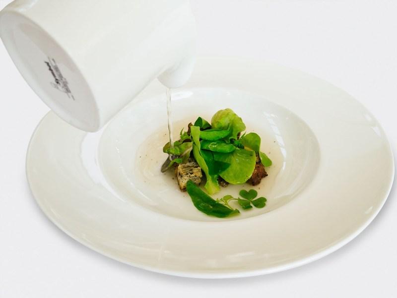 Ulliassi - Lumache, acqua di conditella, gelato alle fave
