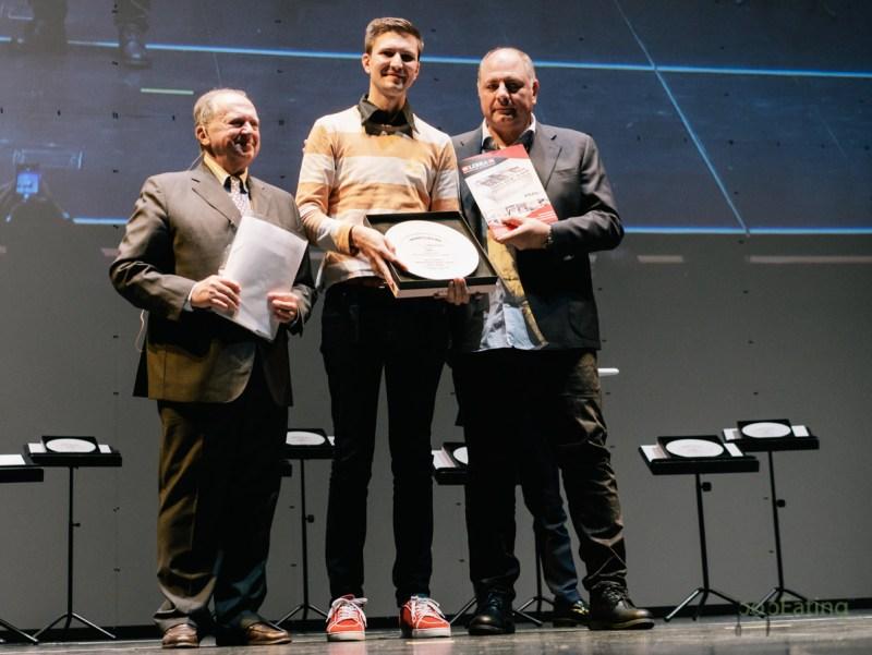 Paolo Griffa, Grand Hotel Royal e Golg Petit Royal - Premio Libra per il giovane dell'anno
