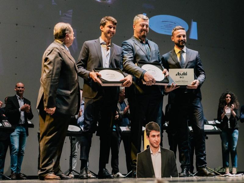 Alberto Rigoglio e Manfredi Franco - Premio Asahi Super Dry per il cliente dell'anno
