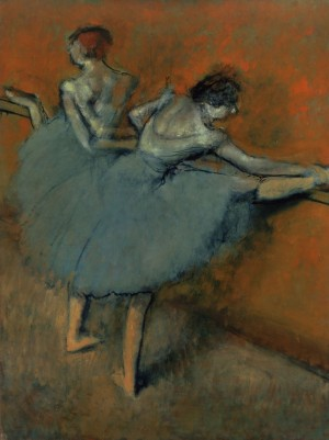 Degas, Dancers at the Bar, 1900, Phillips Collection