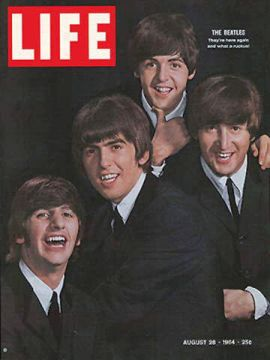 Beatles, 'Life' magazine, August 1964.