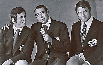 MNF Favorite team from the early 70's-Don Meredith,Howard Cosell,Frank Gifford