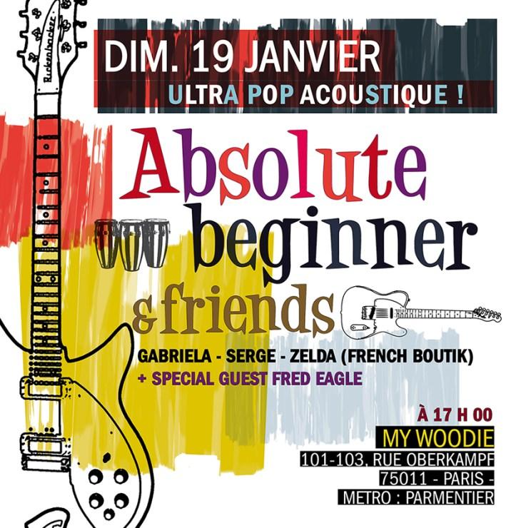 140119 Absolute Beginner & Friends @ my woodie