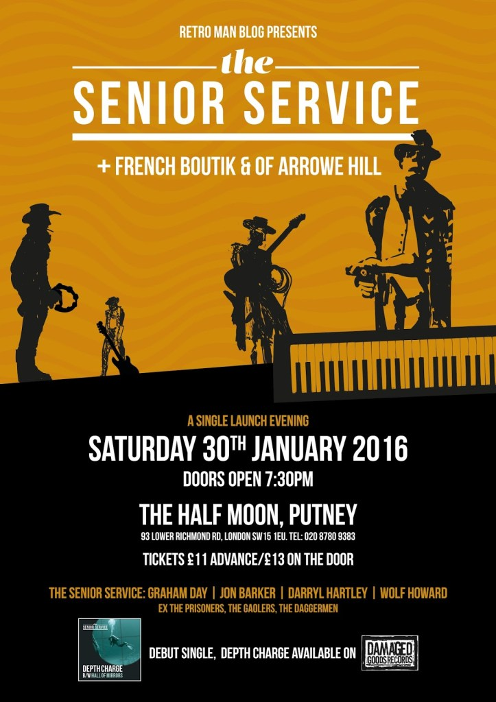 160130 French Boutik with PIC & The Senior Service & Of Arrowe Hill @ Half Moon London