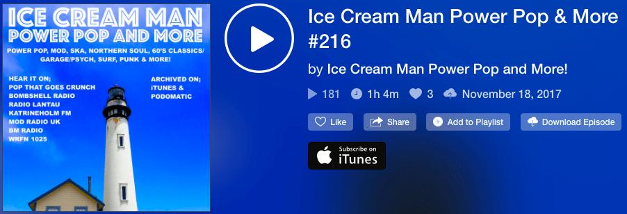 171118 Ice Cream Man – POPINCOURT