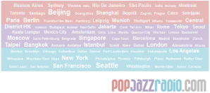 pop jazz radio citys 2012 listening
