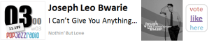 Joseph Leo Bwarie - I Can't Give You Anything But Love f