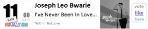Joseph Leo Bwarie - I've Never Been In Love Before f