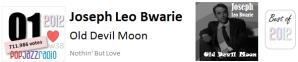 pop jazz radio best of 2012 No 1 Joseph Leo Bwarie Old Devil Moon