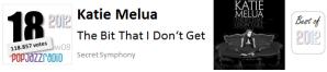 pop jazz radio best of 2012 No 18 Katie Melua The Bit That I Don't Get