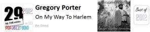 pop jazz radio best of 2012 No 29 Gregory Porter On My Way To Harlem
