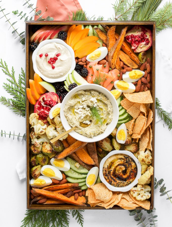 How to make the perfect holiday party platter // POP KITCHEN