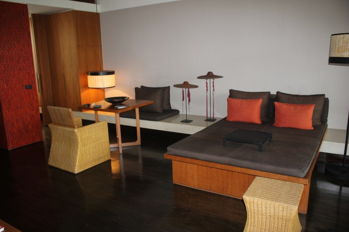 The living area of our Suite
