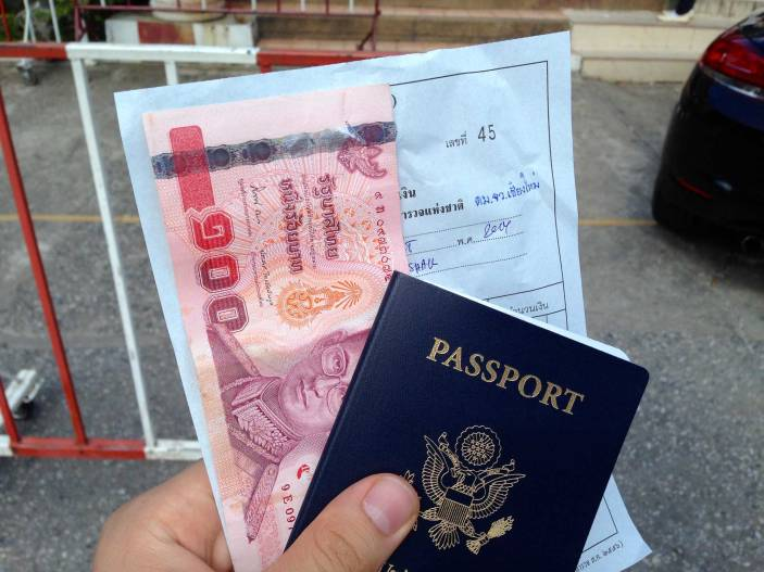 How to extend your tourist visa in chiang mai