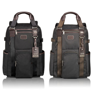 tumi alpha bravo backpack tote