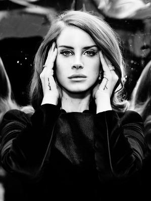 Lana Del Ray by Brian Adams