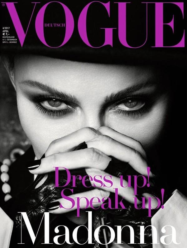 Madonna na capa da Vogue Alemanha!