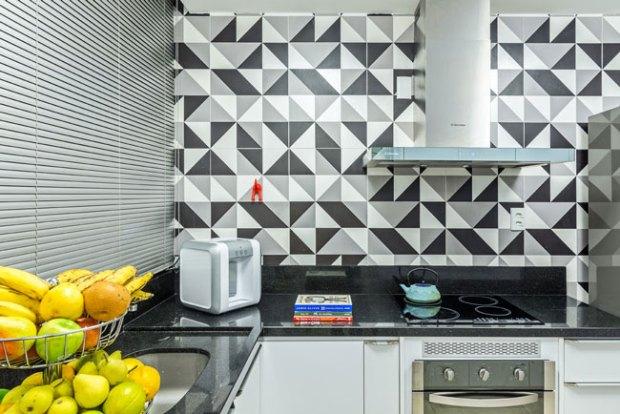 padrões geométricos usados na cozinha