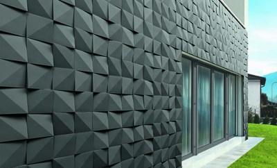 geometria na decoração - fachada