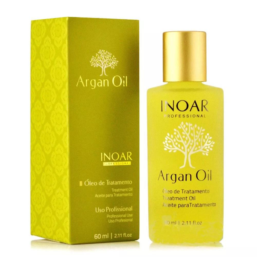produtos para cuidar dos cabelos oleo de argan inoar