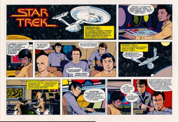 star-trek-newspaper-strip-panels