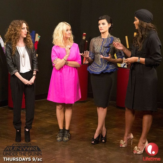 Jaimie Alexander Project Runway Under the Gunn