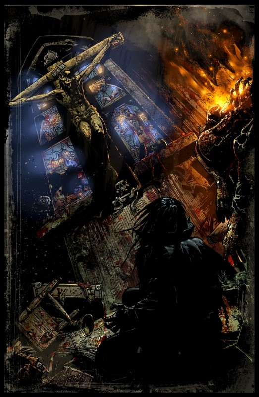 four horsemen of the apocalypse adam cahill church