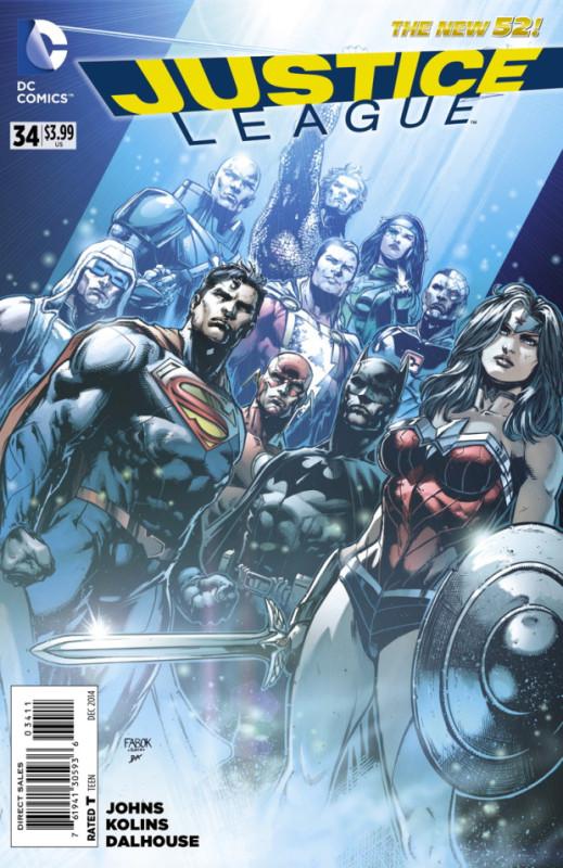 justice league 34
