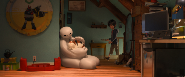 Baymax is the biggest and best part of 'Big Hero 6' Image: Disney