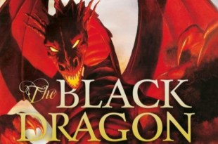 black dragon detail