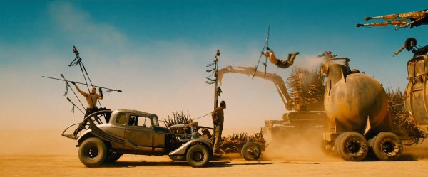 Great stunts are the best effect. Image: Warner Bros. Pictures.