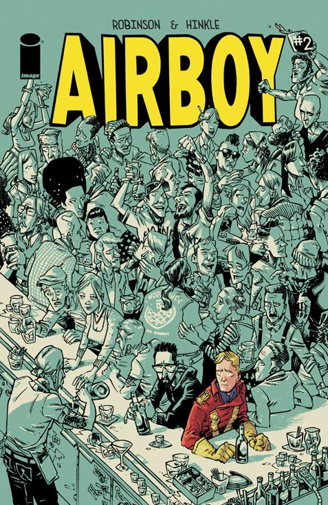 Airboy #2 Image Comics