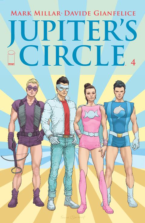Jupiter's Circle #4 Image Comics