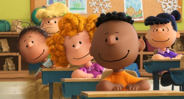 peanuts movie franklin