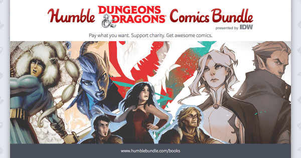idw dungeons and dragons humble bundle