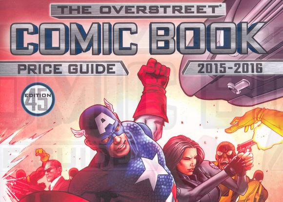overstreet comic book guide 45