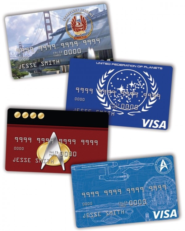 star trek credit cards