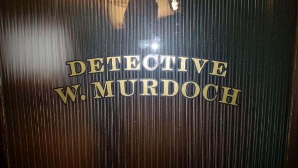 murdoch mysteries door