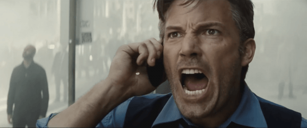 Ben Affleck is featured in what is easily the best scene in the film. Image: Warner Bros. Pictures.