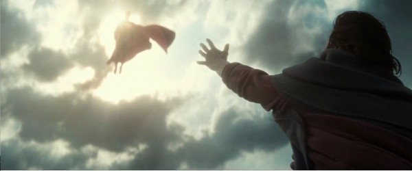 Superman, savior. Image: Warner Bros. Pictures.