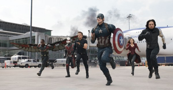 Team Captain America. Image: Walt Disney Studios Motion Pictures