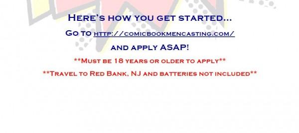 comic book men casting call 2