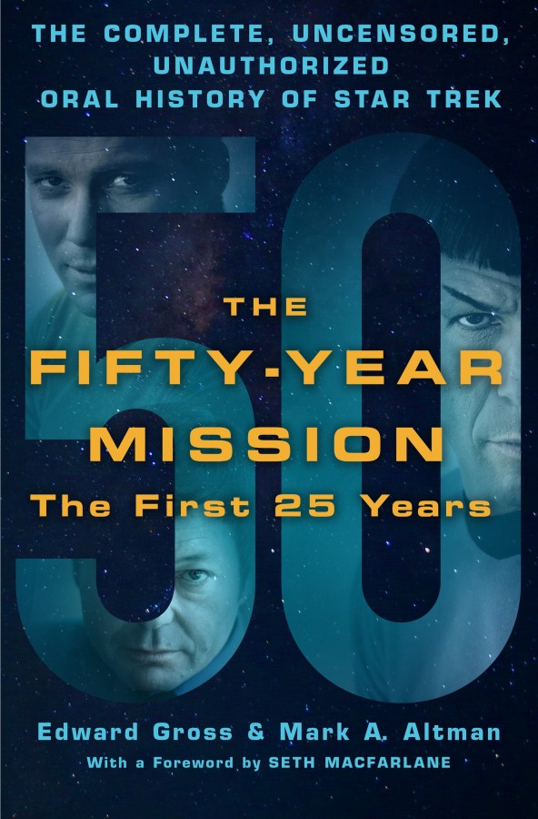 star trek book fifty year mission