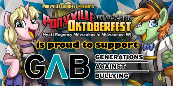 ponyville ciderfest - generations against bullying